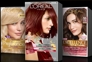 FREE Box of LOreal Hair Color