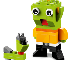 FREE LEGO Alien and Space Dog Mini Build at LEGO Stores on January 6, 2015