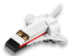 FREE LEGO Space Shuttle Mini Build at LEGO Stores on Feb 3