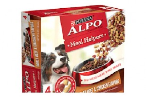 FREE Purina ALPO Meal Helpers Dog Food Sample