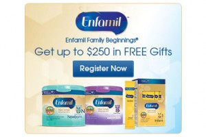 FREE Enfamil Baby Product Samples, Gifts and Mailed Coupons
