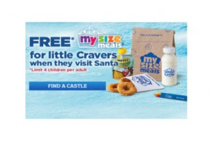FREE My Size Meal for Kids at White Castle on 12/13
