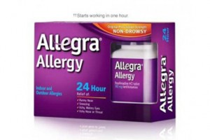 FREE Allegra Allergy 24Hr Sample