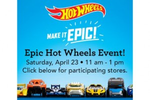 FREE Hot Wheels Collector Car at Toys R Us on 4/23