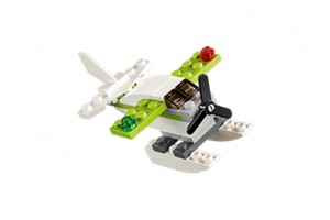 FREE LEGO Seaplane Mini Model Build at LEGO on June 7 and 8