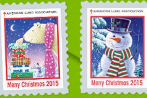 FREE 2016 Christmas Seals Stickers
