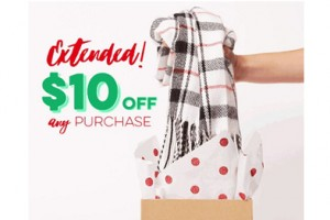 FREE $10 off $10 at Charming Charlie Stores Coupon