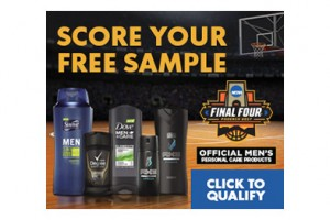 FREE Unilever Personal Care Product Samples for Men (Select States)