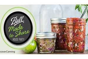 FREE Ball Canning Made to Share House Party