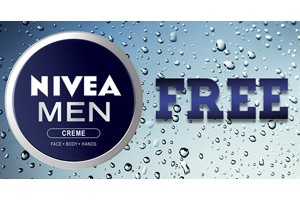 FREE Nivea For Men Sample