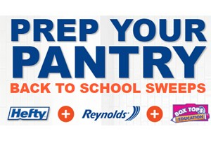 Prep Your Pantry Back to School Sweepstakes and Instant Win Game