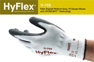 FREE Ansells Hyflex Intercept Cut Protection Gloves Sample