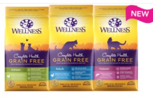 FREE Bag of Wellness Dog or Cat Food