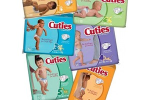 FREE Cuties Complete Care Baby Diapers Sample