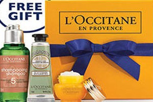 FREE Anti-Aging Miracle Gift Set at L'Occitane Stores
