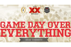 Dos Equis Game Day Over Everything Sweepstakes and Instant Win Game