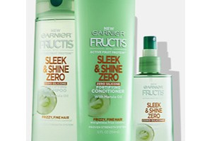 FREE Garnier Fructis Shampoo, Conditioner and Treatment Samples