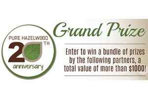 Pure Hazelwood 20th Anniversary Giveaway