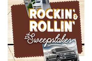 Cracker Barrel Old Country Store Rockin' & Rollin' Daily Prize Sweepstakes