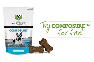 FREE VetriScience Composure Dog Supplement Chew Sample