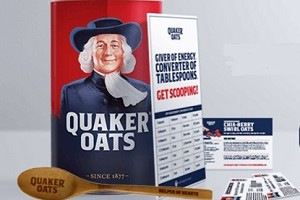 FREE Quaker Oats, Mixing Spoon and More