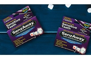 2 FREE SenzAway Tooth Desensitizing Gel Samples