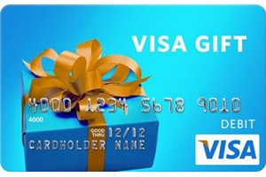 $2,500 Visa Gift Card Sweepstakes