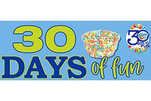 Dippin' Dots Thirty Days Of Fun Sweepstakes
