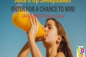 Juice It Up Cuisinart Juicer Sweepstakes