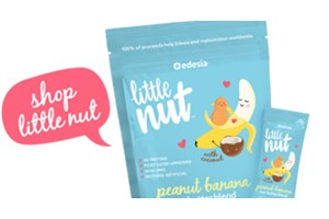 FREE Little Nut Peanut Banana Nut Butter Blend Sample