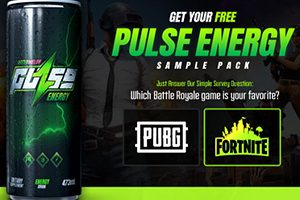 FREE Pulse Energy Drink Giveaway