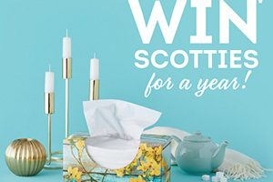 "Scotties ""Win For A Year"" Sweepstakes"