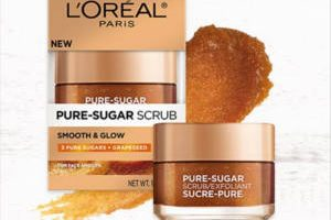 FREE L'Oreal Pure-Sugar Grape Seed Scrub Sample