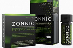 FREE Pack of Zonnic Stop-Smoking Aid Gum or Lozenge