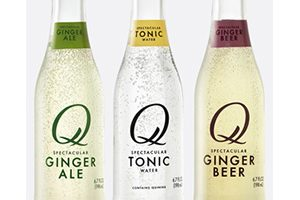 FREE Q Drinks Carbonated Mixer Beverages