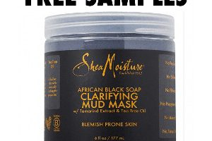 FREE SheaMoisture African Black Soap Mud Mask Sample