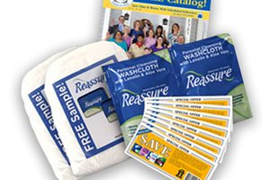 FREE HDIS Sample Pack with Reassure Travel Washcloths