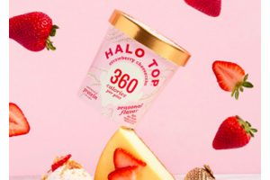 Halo Top Ice Cream Strawberry Cheesecake Sweepstakes