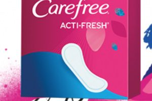 FREE Carefree Acti-Fresh Twist Resist Liners