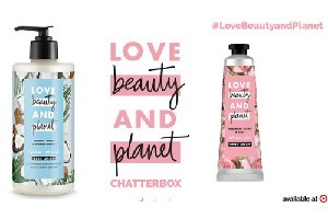 Possible FREE Love Beauty and Planet Target Chatterbox Kit