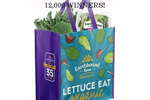 Earthbound Farm Reusable Bag Giveaway (12,000 Winners!)