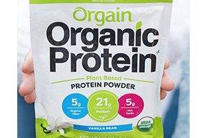 FREE Orgain Organic Protein Powder Sample