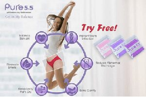 FREE Pure5.5 pH Balancing Underwear