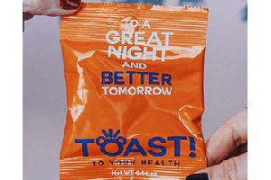 FREE Toast Gummy Bears Hangover Prevention Samples