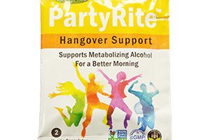 FREE PartyRite Hangover Support Sample