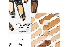 FREE Sephora Collection Matte Perfection Full Coverage Sample