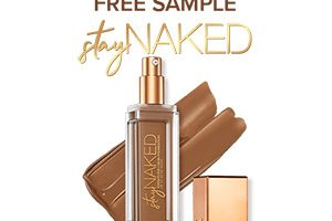 FREE Urban Decay Naked Liquid Foundation Sample