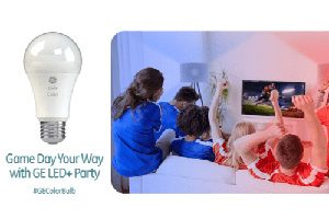 FREE GE Game Day Your Way with GE LED+ Party Kit