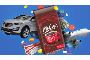 McDonalds Mccafe Instant Win Game