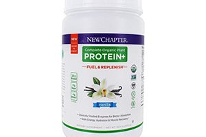 FREE New Chapter Complete Organic Plant Protein+
